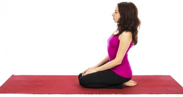 vajrasana helps gain more muscle