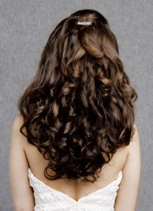 modelbride3 218x300 How to get rid of split ends:home made hair packs and useful tips