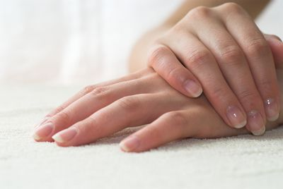Unhealthy Nails Is Also The Symptom Of Deficiency ProteinStart Eatin Protein Rich Diet Such As Fruits Fish Eggs And Nuts To Keep Your Healthy