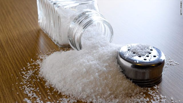 Excess salt effects negatively