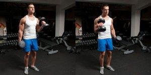 Standing-Alternate-Hammer-Curls