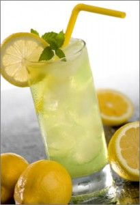 Lemon ginger drink