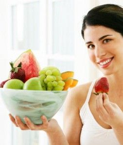 healthy eating for healthy hairs