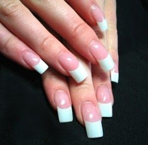 French manicure1 300x294 Latest nail art trends and designs