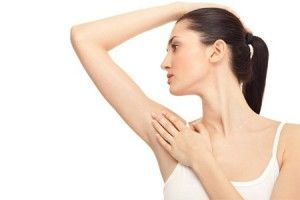 Underarms hair removal