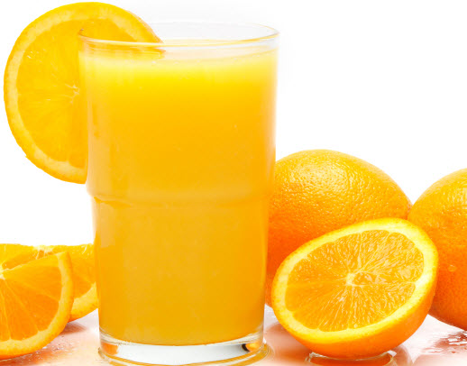Orange Juice for Vitamin D