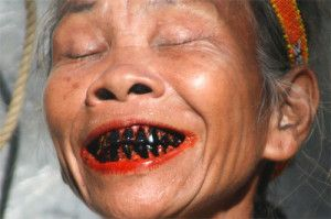 Chewing of betel nuts even damage your teeth