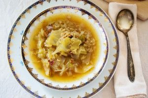 Spanish Cabbage Soup