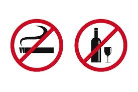 Cut down the harmful effects of tobacco and alcohol